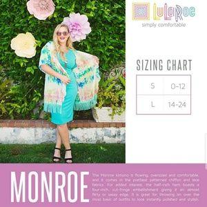 LuLaRoe Jackets & Coats - LuLaRoe Monroe Kimono